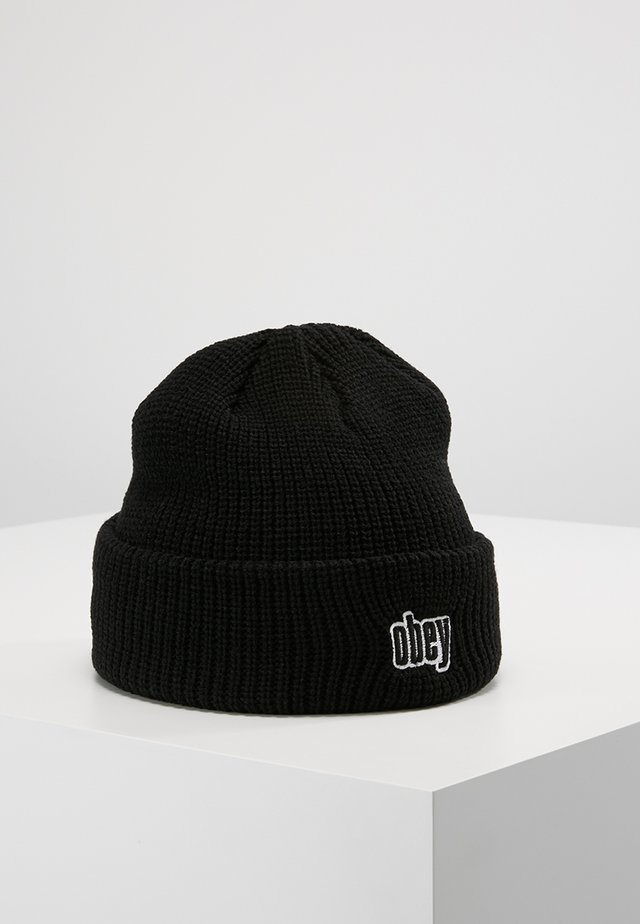 JUNGLE BEANIE - Lue - black