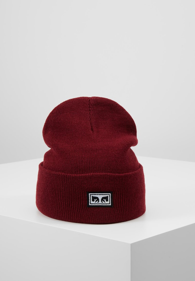 Obey Clothing - ICON EYES BEANIE - Beanie - fig red