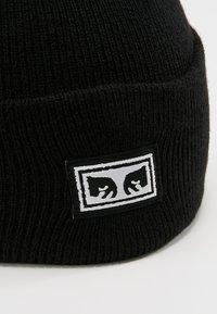 Obey Clothing - ICON EYES BEANIE - Gorro - black - 4