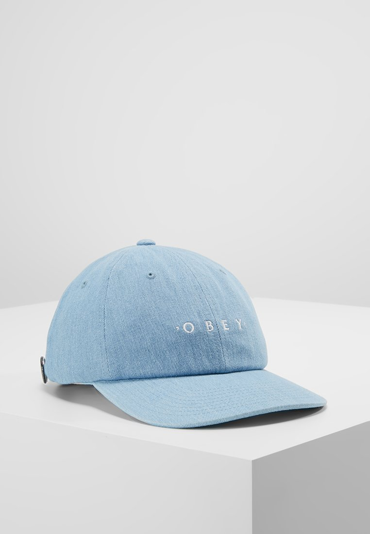 Obey Clothing - INTENTION 6 PANEL SNAPBACK - Casquette - light denim