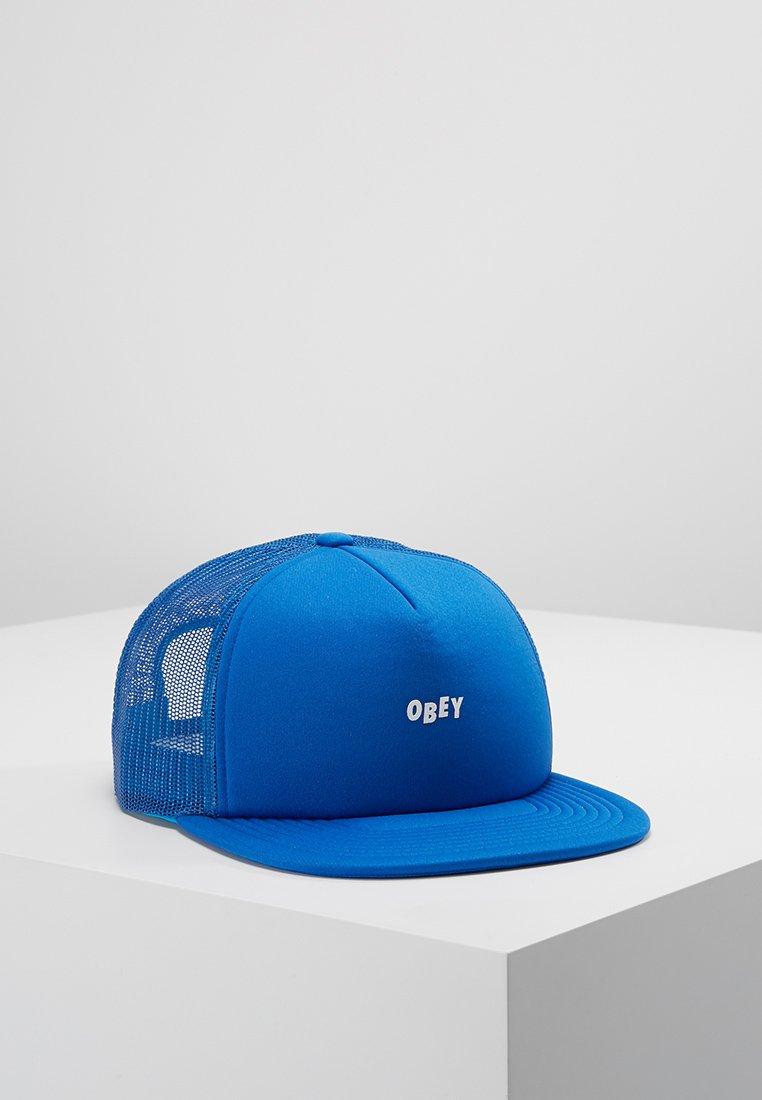 Obey Clothing - JUMBLE BAR TRUCKER HAT - Cap - sky blue
