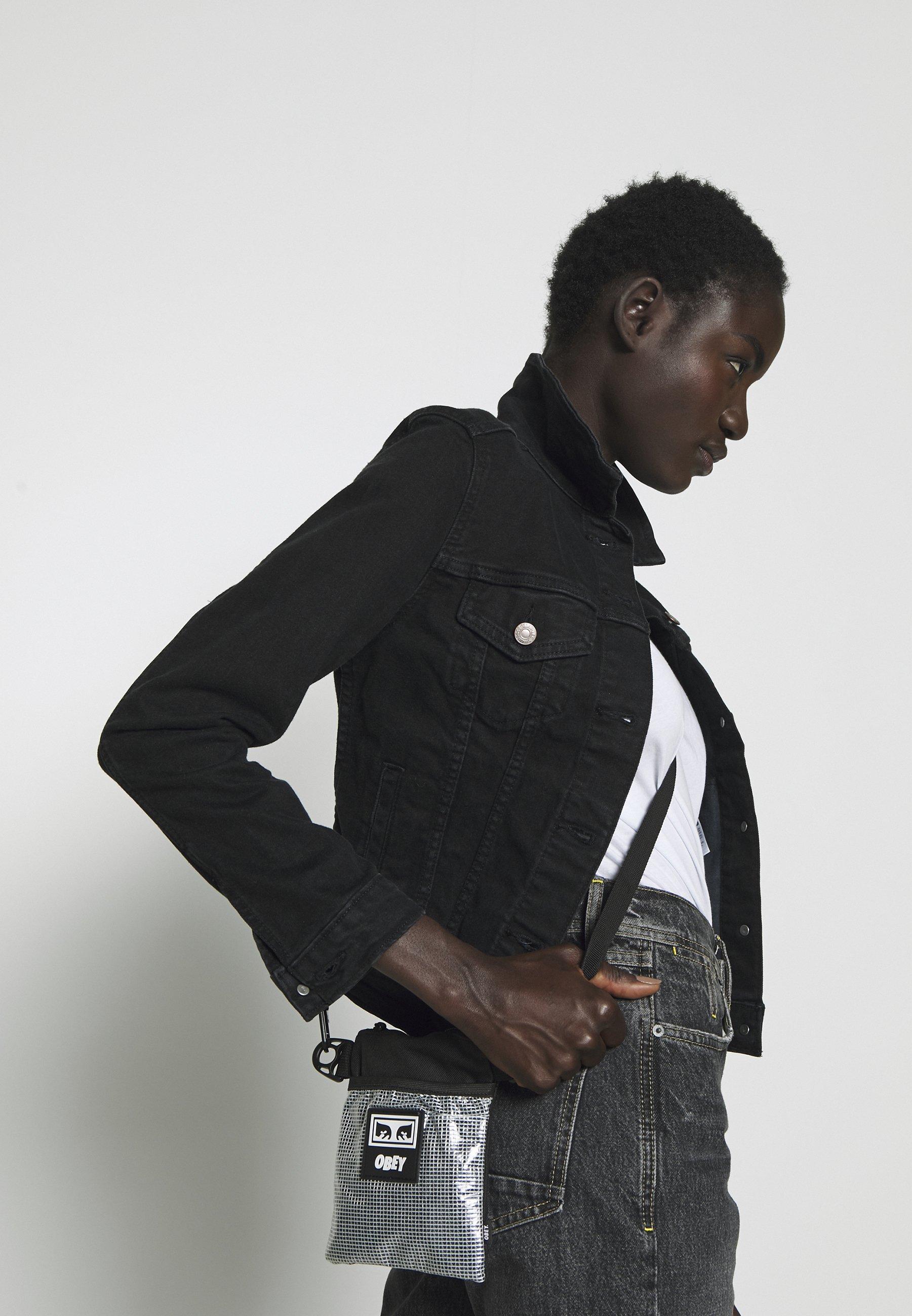 Obey Clothing CONDITIONS SIDE POUCH Skulderveske black