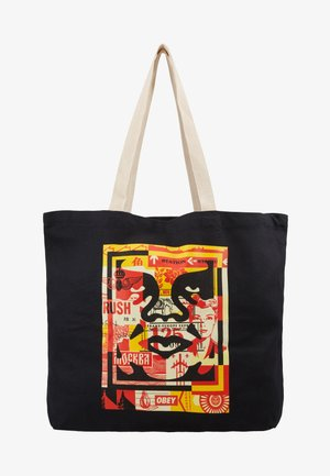 FACE COLLAGE - Bolso shopping - black