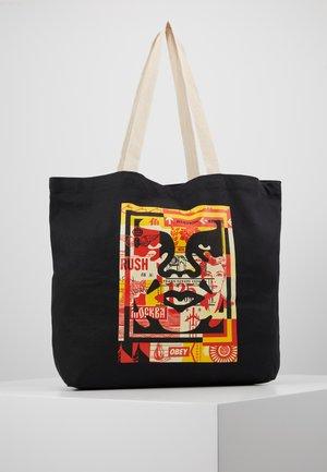 FACE COLLAGE - Bolso shopping - black