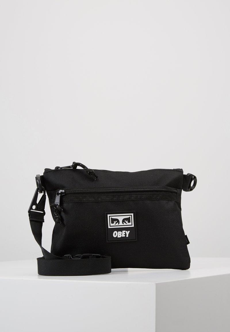 Obey Clothing - CONDITIONS SIDE BAG III - Skuldertasker - black