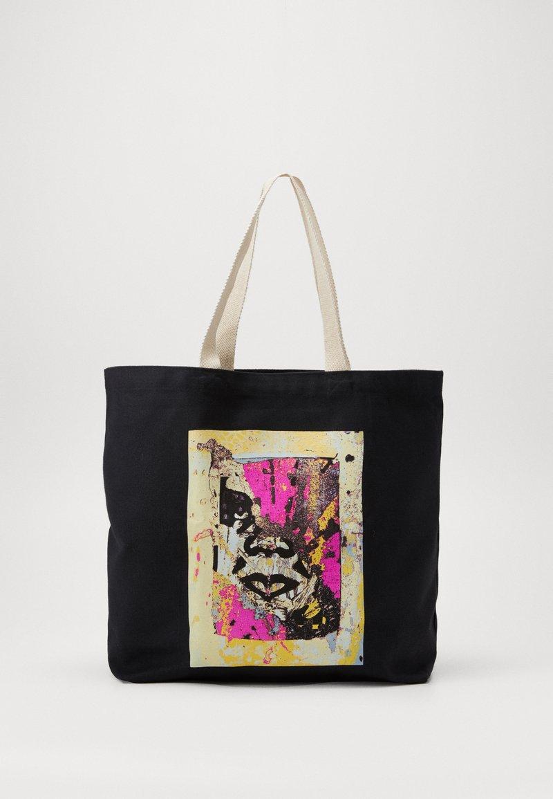 Obey Clothing - ENHANCED DISINTEGRATION - Shoppingveske - black