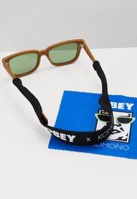 Obey Clothing - ROCCO - Sluneční brýle - caramel - 2