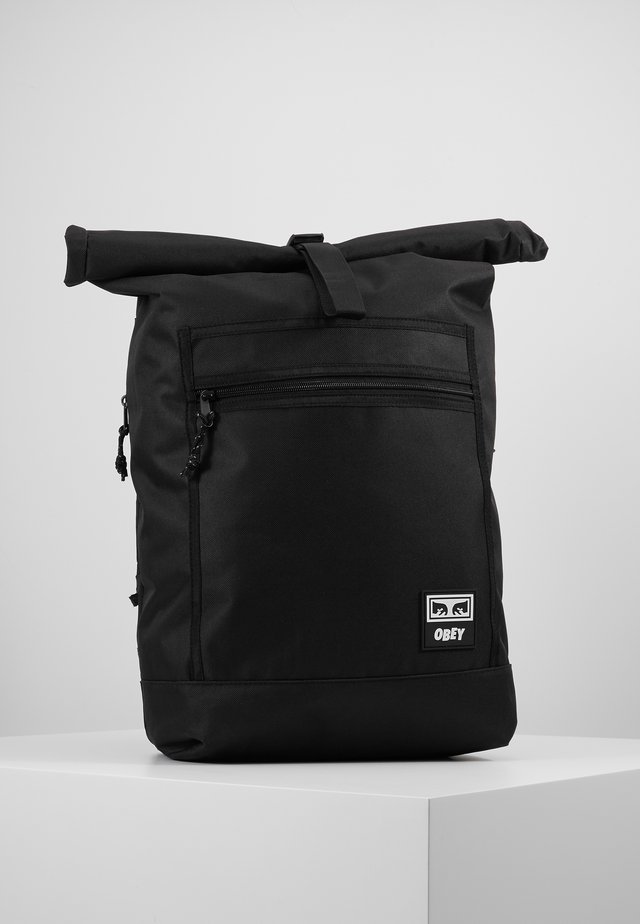 CONDITIONS ROLL TOP BAG - Plecak - black