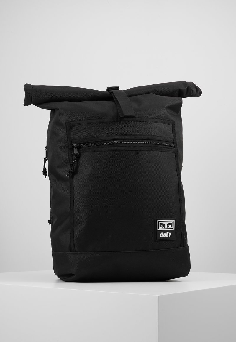 Obey Clothing - CONDITIONS ROLL TOP BAG - Reppu - black