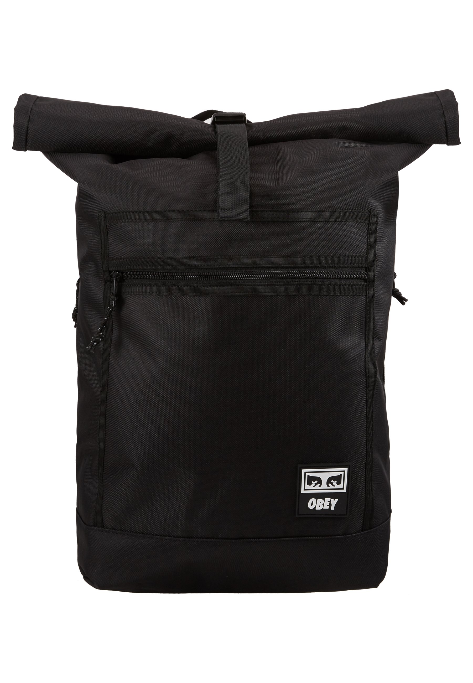 Obey Clothing Conditions Roll Top Bag - Sac À Dos Black