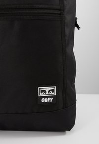 Obey Clothing - CONDITIONS ROLL TOP BAG - Reppu - black - 2