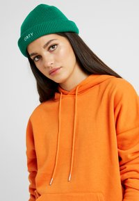 Obey Clothing - ROLLUP BEANIE - Mössa - green lake - 3