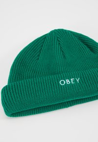 Obey Clothing - ROLLUP BEANIE - Mössa - green lake - 5