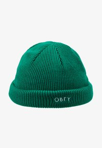 Obey Clothing - ROLLUP BEANIE - Mössa - green lake - 4