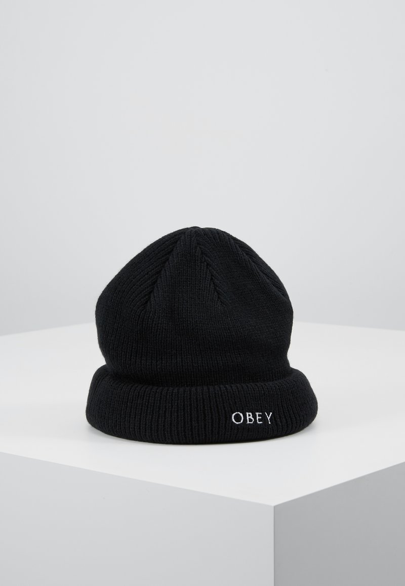 Obey Clothing - ROLLUP BEANIE - Muts - black