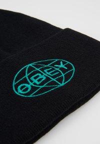 Obey Clothing - GRAVITY BEANIE - Gorro - black - 5