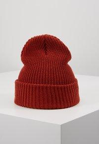 Obey Clothing - JUMBLED BEANIE - Beanie - brick red - 2