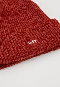 Obey Clothing - JUMBLED BEANIE - Beanie - brick red - 5