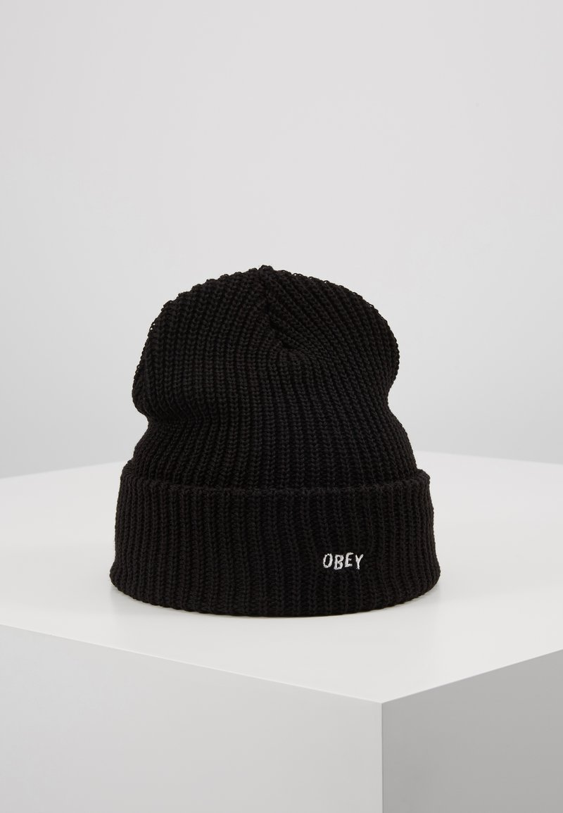 Obey Clothing - JUMBLED BEANIE - Beanie - black