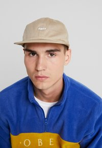 Obey Clothing - JUMBLED PANEL SNAPBACK - Kšiltovka - khaki - 1