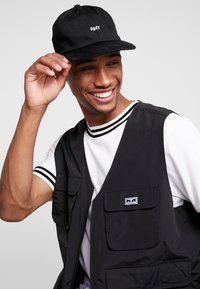 Obey Clothing - JUMBLED PANEL SNAPBACK - Cappellino - black - 1