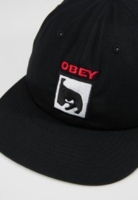 Obey Clothing - CHAMPION PANEL SNAPBACK - Pet - black - 6