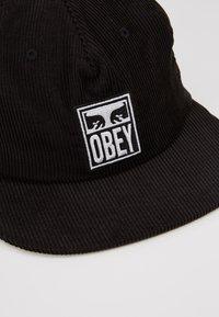 Obey Clothing - VANISH STRAPBACK - Kšiltovka - black - 2