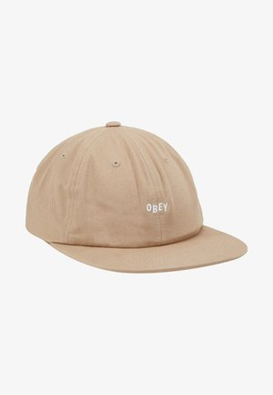 JUMBLED 6 PANEL STRAPBACK - Cap - khaki