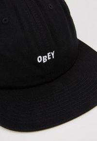 Obey Clothing - JUMBLED 6 PANEL STRAPBACK - Caps - black - 2