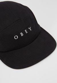 Obey Clothing - LUSH 5 PANEL HAT - Kšiltovka - black - 2