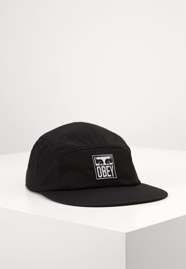 VANISH PANEL HAT - Czapka z daszkiem - black