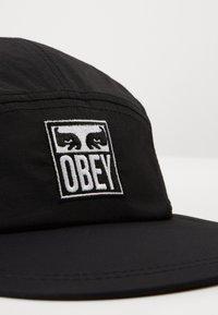Obey Clothing - VANISH PANEL HAT - Kšiltovka - black - 3