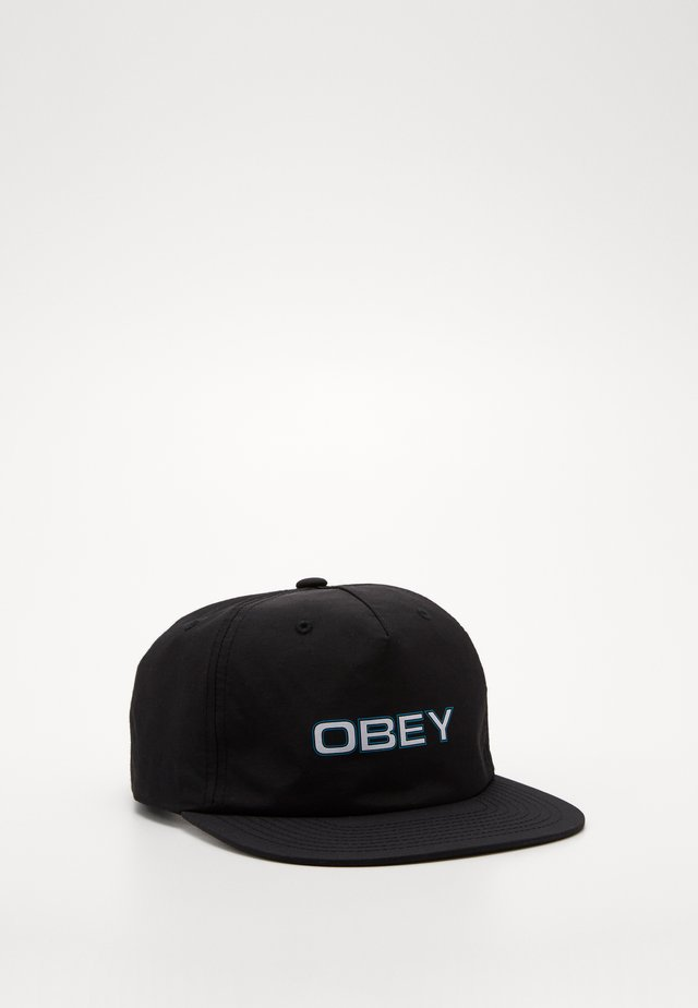 COPPER STRAPBACK - Casquette - black