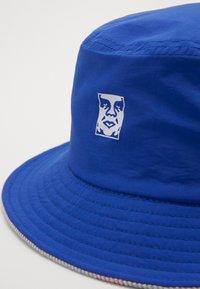 Obey Clothing - ICON REVERSIBLE BUCKET HAT - Klobouk - blue - 3
