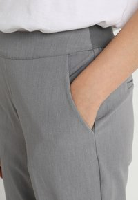 Object - OBJCECILIE - Pantaloni - medium grey melange - 4