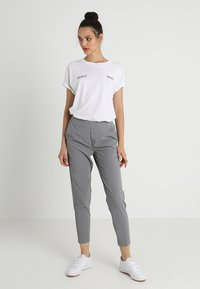 Object - OBJCECILIE - Pantaloni - medium grey melange - 1