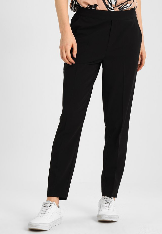 OBJCECILIE - Trousers - black