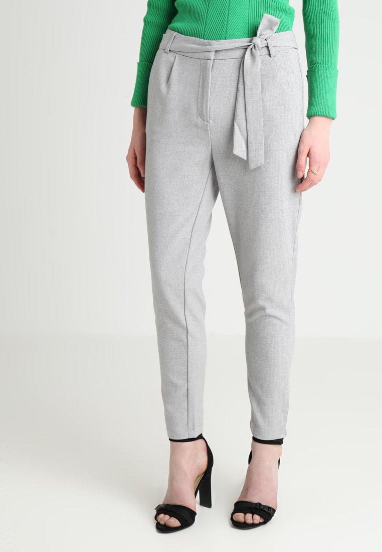 Object - OBJHENNAH PANT - Bukser - light grey melange