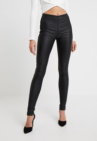Object - OBJBELLE  - Legging - black - 0