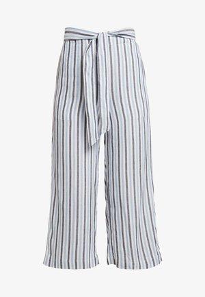 OBJWENDY PANT - Trousers - gardenia