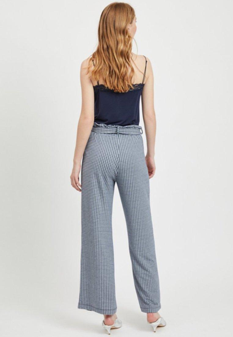 Dark Pantalon Object Object ClassiqueMottled Blue Pantalon ClassiqueMottled Dark Blue rBodCxeW