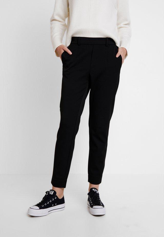 OBJLISA SLIM PANT NOOS - Kalhoty - black