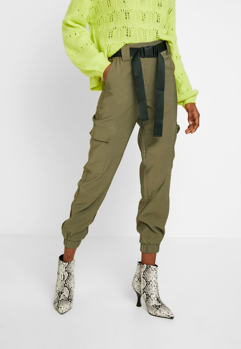Object - OBJMESA CARGO PANT - Trousers - burnt olive