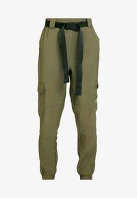 Object - OBJMESA CARGO PANT - Kalhoty - burnt olive - 6