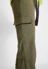 Object - OBJMESA CARGO PANT - Kalhoty - burnt olive - 4