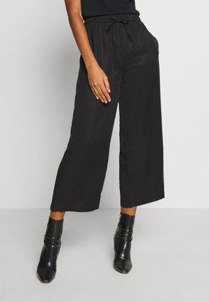 OBJTILDA TALULA 7/8 PANT NOOS - Pantalon classique - black