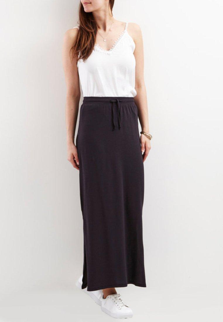 Object - OBJSTEPHANIE - Maxi skirt - black