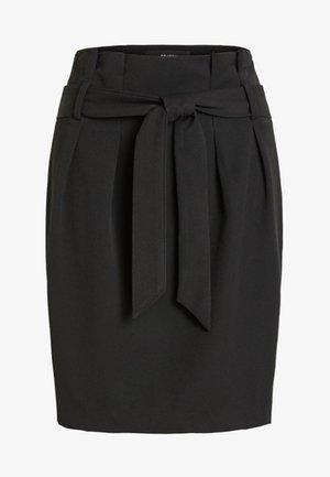 OBJLISA ABELLA - Spódnica trapezowa - black