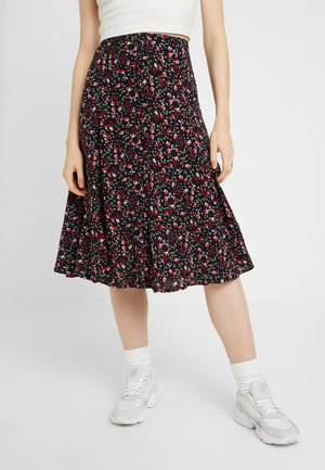 A-line skirt - sky captain
