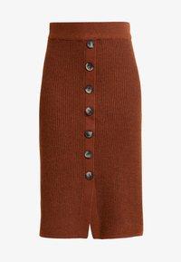 Object - A-snit nederdel/ A-formede nederdele - brown patina - 3